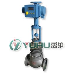 电动高温调节阀(配进口电动执行器)